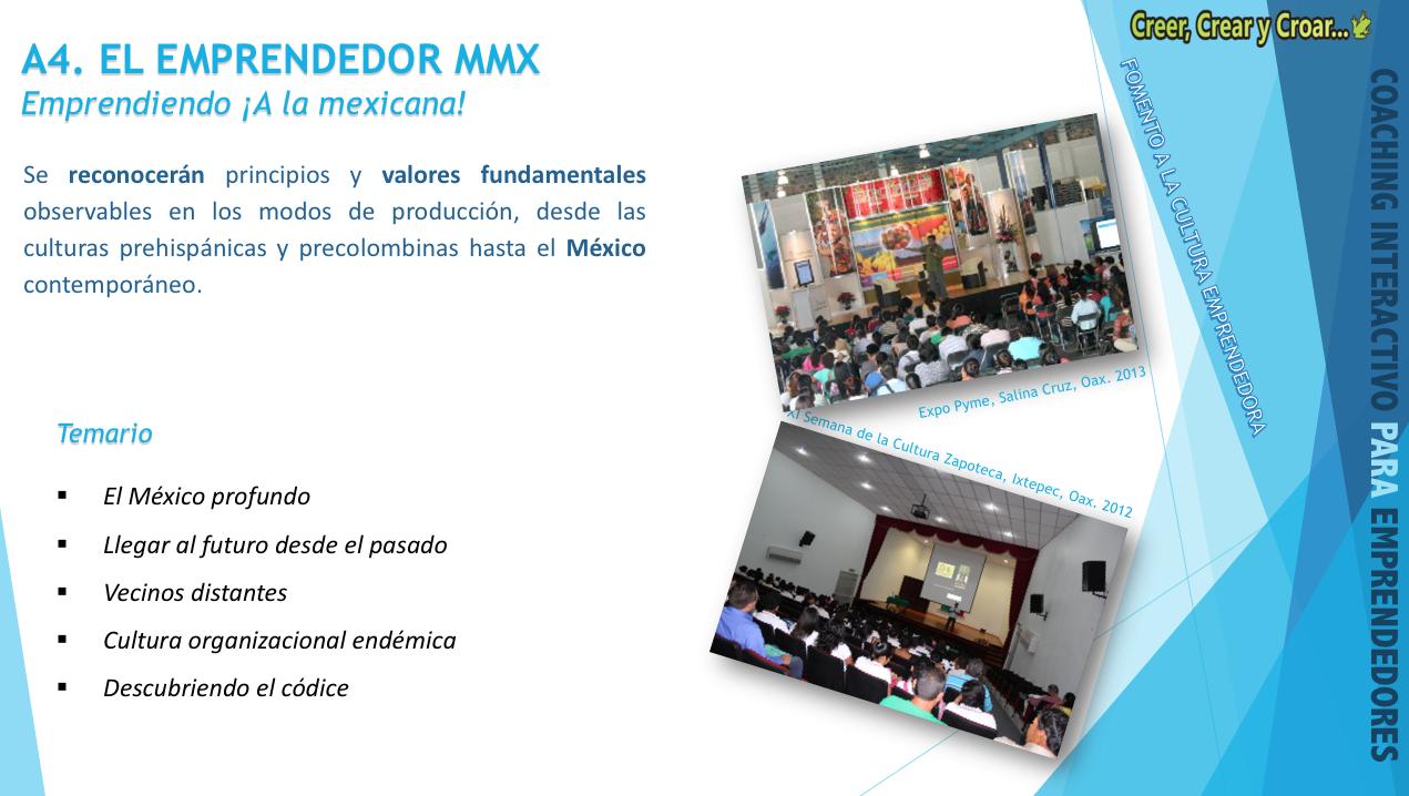 A4 - EL EMPRENDEDOR MMX.- Emprendiendo ¡A la mexicana!