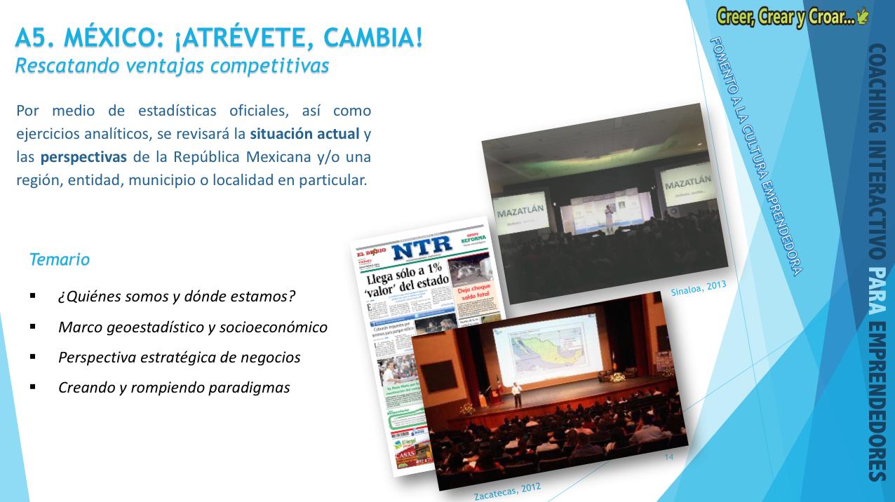 A5 - MÉXICO: ¡ATREVETE, CAMBIA! – Rescatando ventajas comparativas