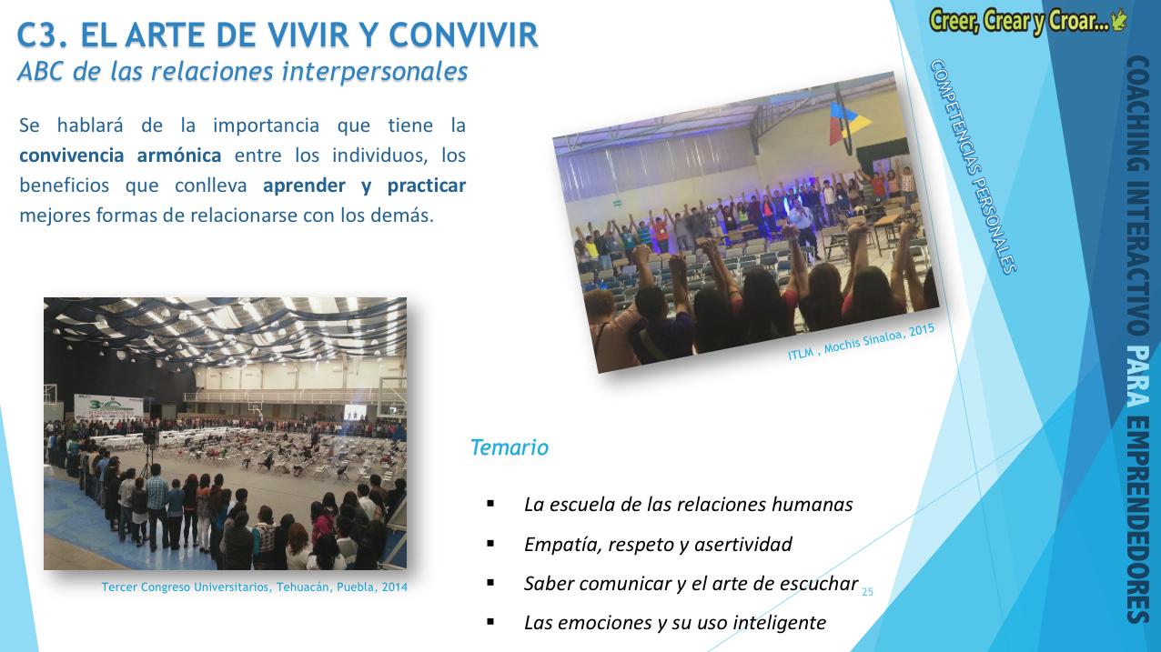 C3- EL ARTE DE VIVIR Y CONVIVIR.- ABC de las relaciones interpersonales