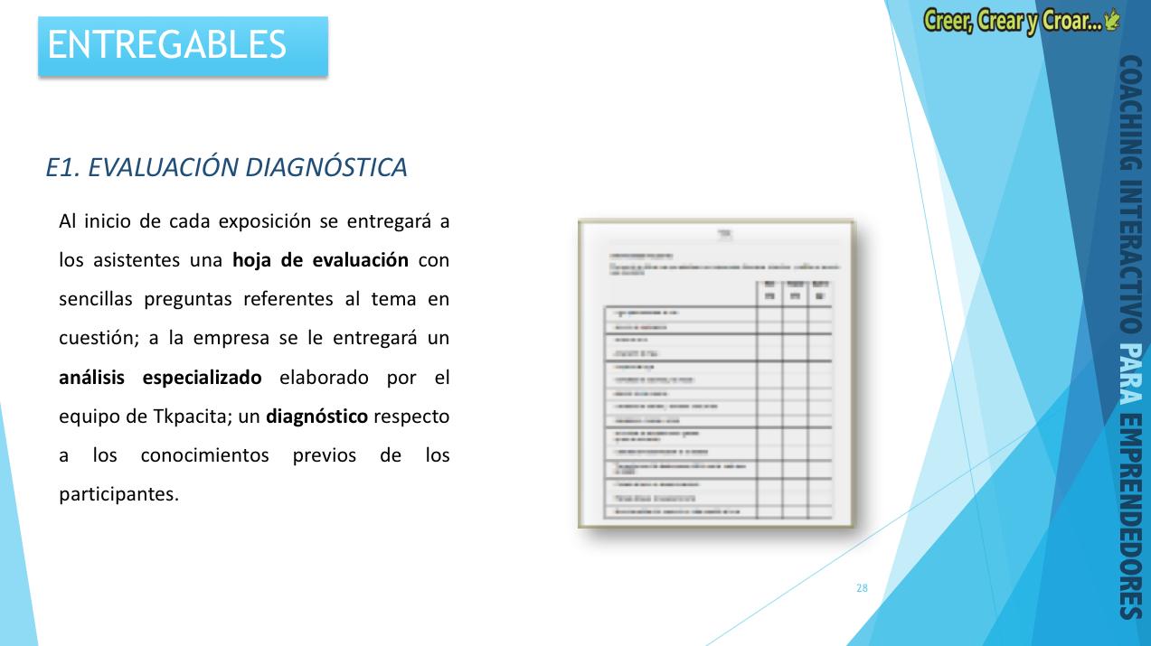 E1 - EVALUACIÓN DIAGNÓSTICA