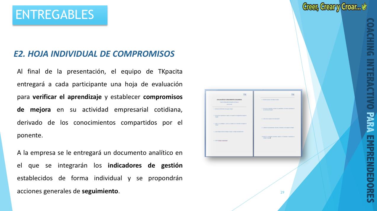 E2 - HOJA INDIVIDUAL DE COMPROMISOS