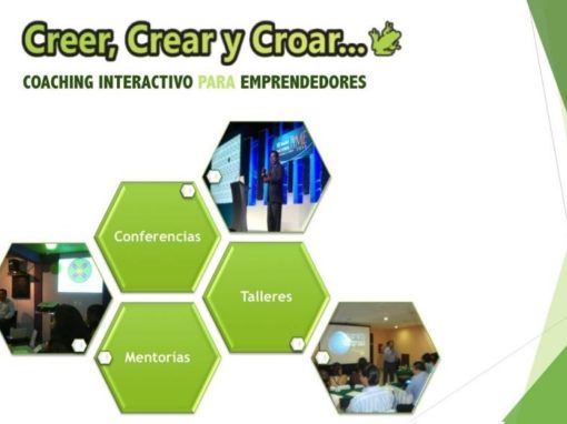 Conferencias Creer, Crear, y Croar.